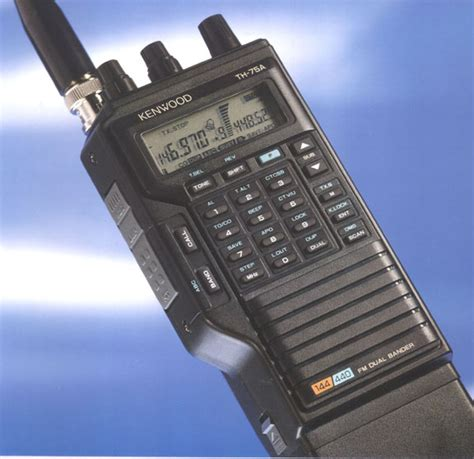 Ht Multi Band kenwood th 75a th75a dual band ht