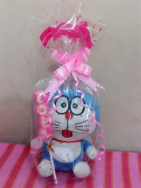 Jual Parcel Valentines Gift Hello 1 jual paket boneka doraemon coklat pinkyshop