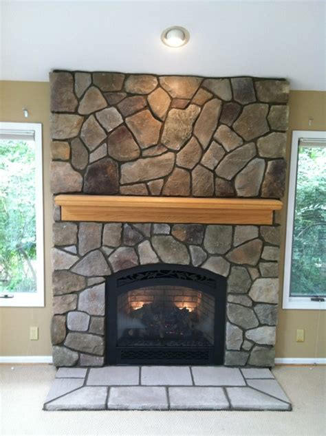 fieldstone fireplace pictures boral cultured dressed fieldstone traditional