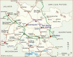 Guanajuato Mexico Map by Clickable Interactive Map Of Guanajuato State Mexico