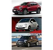 Fiat 500X Vs 500L 500 Italian Family Comparison
