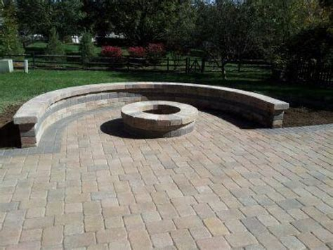 firepit pavers patio pit pictures and ideas