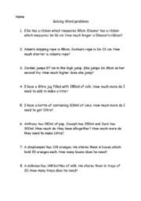 Age Word Problems Worksheet by Age Word Problems Worksheets Bluegreenish