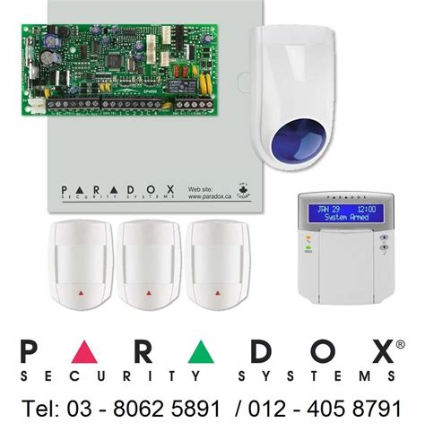 paradox spectra alarm system 4 zone end 5 18 2016 9 15 pm