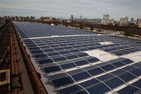 Backyard Solar Panels by The Navy Yard Just Added One Of Nyc S Largest