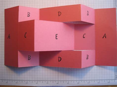 how to make a tri fold card tri shutter card dianne faw