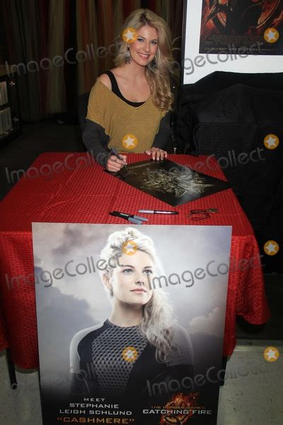 Bluray Ori Original The Hunger Catching W Slipcover 1 photos and pictures leigh schlund at signing