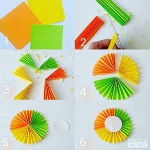 bagaimana cara membuat bunga dari kertas hvs 14 cara membuat hiasan dinding dari kertas mudah dan