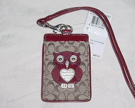 Coach Name Tag Holder small handbags coach id badge holder