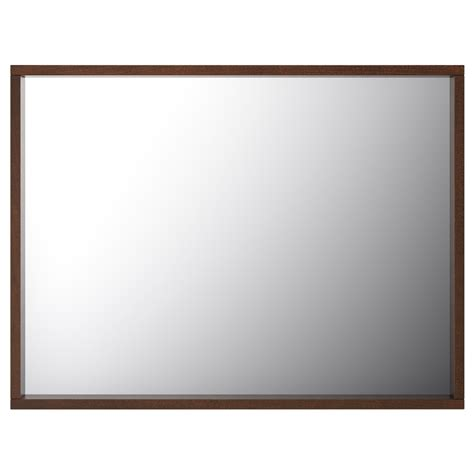 dark brown bathroom mirror molger mirror dark brown 80x60 cm ikea