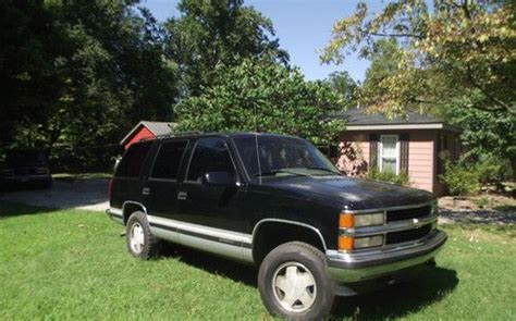 purchase used 1996 chevy tahoe lt 4x4 in louisville kentucky united states for us 3 500 00