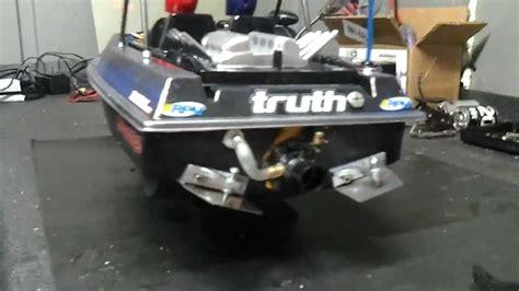 add trim tabs to boat nqd rc jetboat vxl build updated up grades adj trim tabs