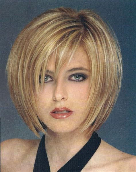 haircuts with deep bangs women hairstyle different bob hairstyles short thick