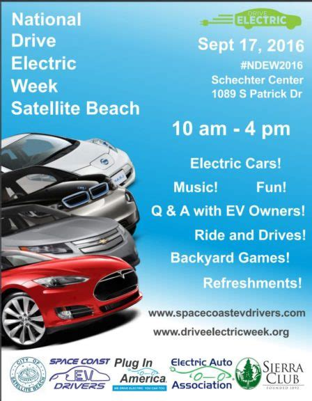 National Backyard Week 2016 National Drive Electric Week 2016 Is This Saturday