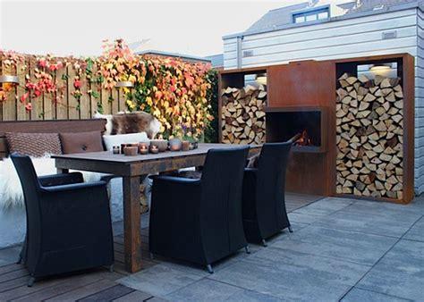 lodewijk eigenhuis en tuin stoere cortenstalen buitenhaard van abk outdoor nieuws