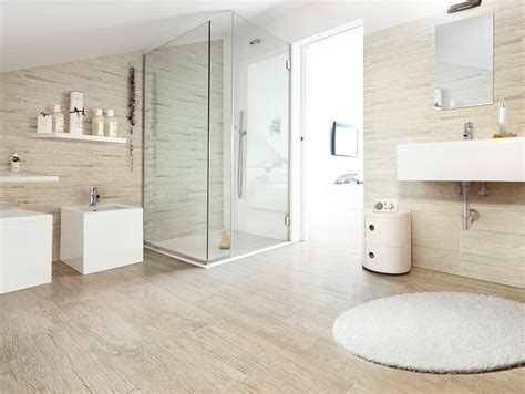 bathroom with wood tile bathroom tile wood look home and family