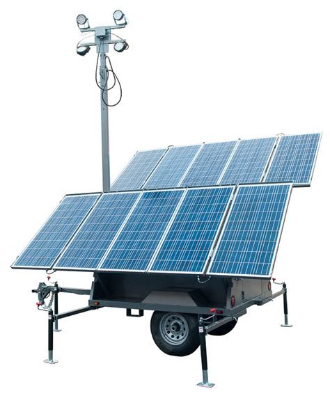 Solar Light Towers Solar Portable Light Tower Overview Product Comparison