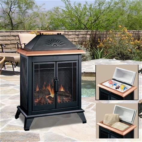 Outdoor Gas Fireplaces For Decks by Outdoor Electric Stoves