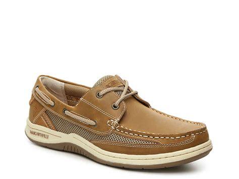 margaritaville boat shoes margaritaville anchor boat shoe men s shoes dsw