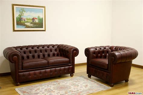 divano e poltrona divano chesterfield 2 posti vama divani