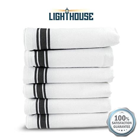 kitchen dish towels 100 cotton vintage stripe 6 pack size kitchen dish towels super absorbent 100 cotton 6pk towel