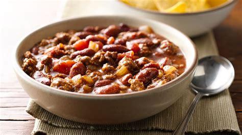 best chili con carne recipe chili con carne recipe bettycrocker