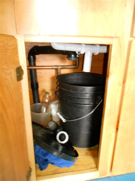 Small Plumbing by 10 April 2012 A Dry Cabin Polartrec
