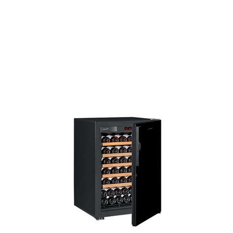 Small Wine Cabinet small wine cooler 1 temperature nero color solid high gloss black door eurocave