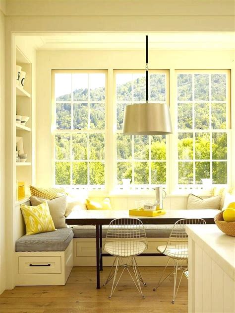 Bay Window Seat Kitchen Table Dining Table Small Breakfast Nook Ideas Wooden Dining Table Bay Window Bench Seat Light Wood