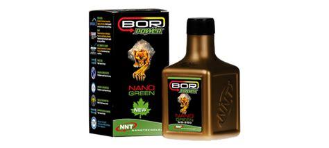 bor power ms  nano green motor koruyucu yag katkisi