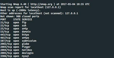 nmap complete tutorial install nmap dan netstat di centos 7