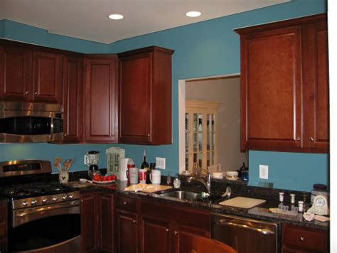 Best kitchen paint colors with cherry cabinets home interiors