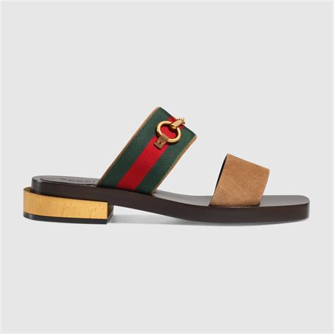 gucci sandals suede horsebit sandal gucci s sandals 408301h9vs08478