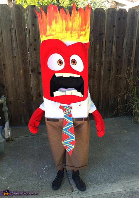 anger diy costume diy tutorial