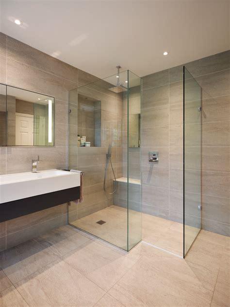 luxury contemporary bathroom suites glass shower enclosure in en suite bathroom luxury home