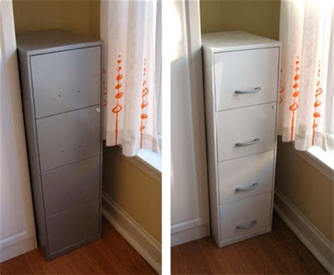 painting a file cabinet how to paint a file cabinet how about orange