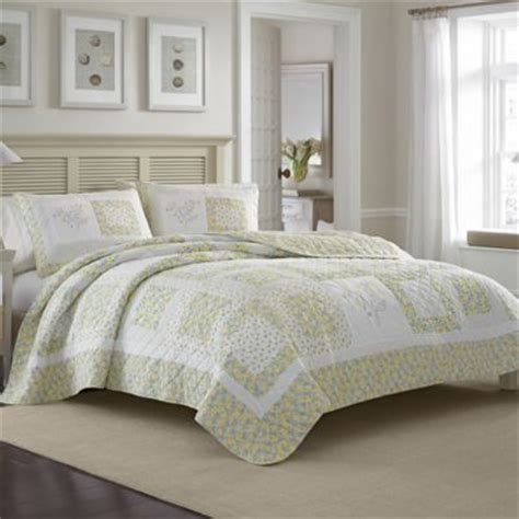 Ainsley Cotton Quilt by Buy 174 Ainsley Quilt From Bed Bath Beyond