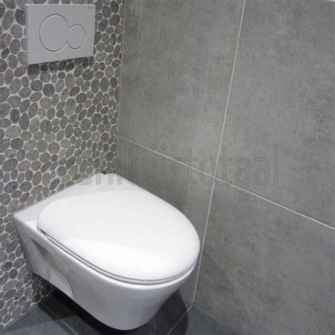 Toilet Tegel Op Tegel by Moza 239 Ek Tegels Tegels Badkamer Grijs Tegelstroken Toilet