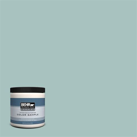 behr premium plus ultra 8 oz 500c 2 aqua pura interior exterior paint sle 500c 2u the