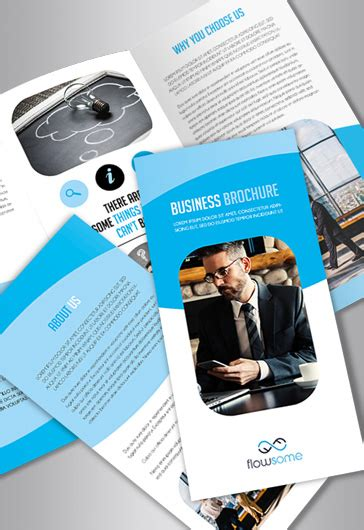 Free Brochure Templates In Psd By Elegantflyer Small Brochure Template
