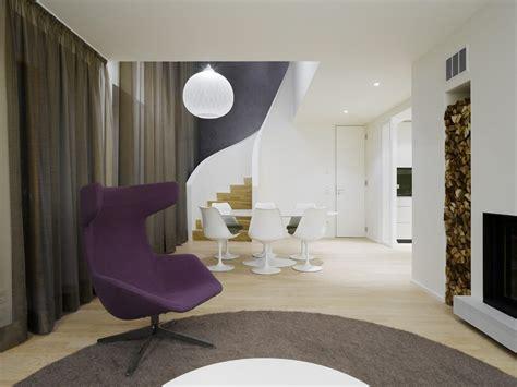 Interior Stairs Design In Duplex Apartments Modern Interior Design Of A Duplex Apartment In New York