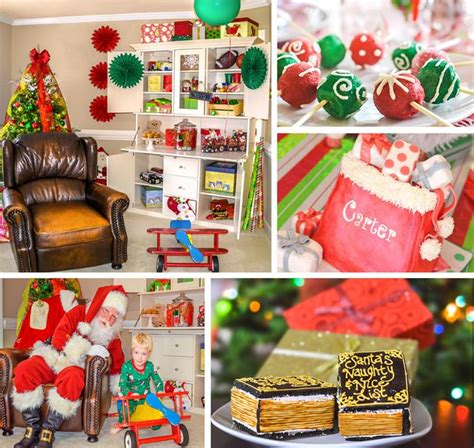 Cubicle Decoration Themes - kara s party ideas santa s workshop holiday party ideas supplies planning idea christmas