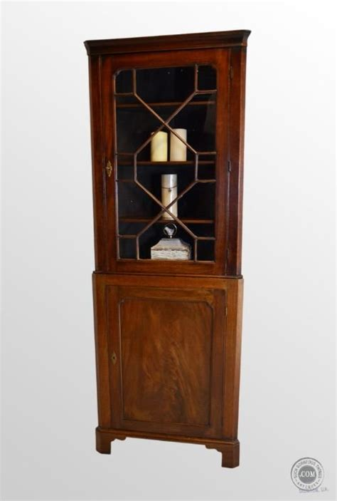 tall white corner display cabinet antique tall corner cupboard display cabinet mahogany