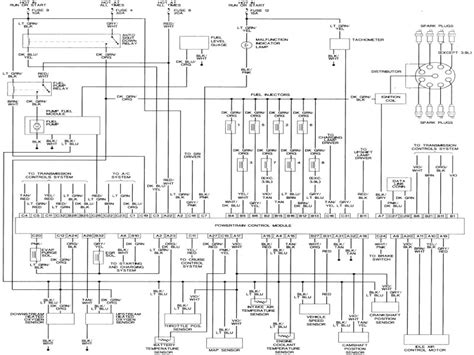 2002 dodge dakota wiring diagram 2000 dodge dakota pcm