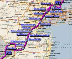 us map of interstate 95 i 95 new jersey traffic