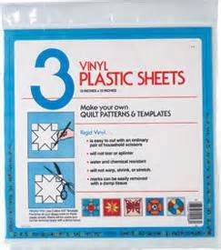 Template Plastic Sheets by Vinyl Template Plastic Sheets 98c 033262100980