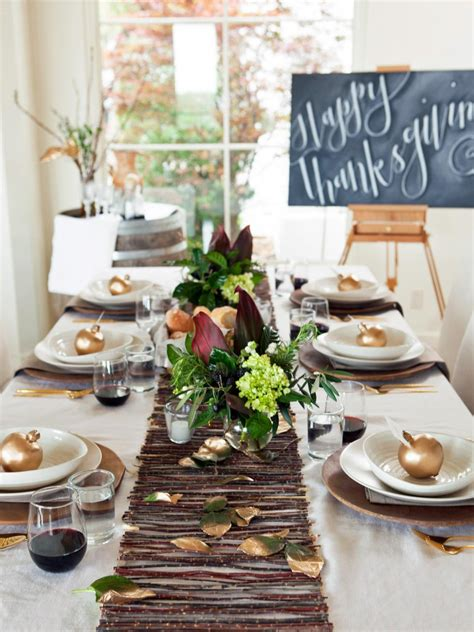 table top decoration gorgeous dining table fall decor ideas for every special