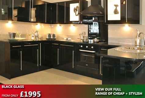 black glass kitchen the kitchen factory
