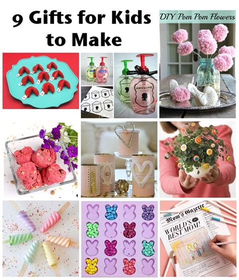 Simple Handmade Gift Ideas - easy craft ideas for gifts preschool crafts