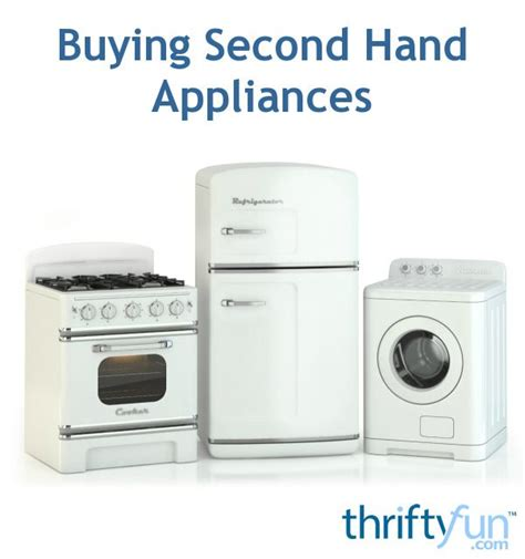 second hand kitchen appliances 82 best images about saving money on pinterest